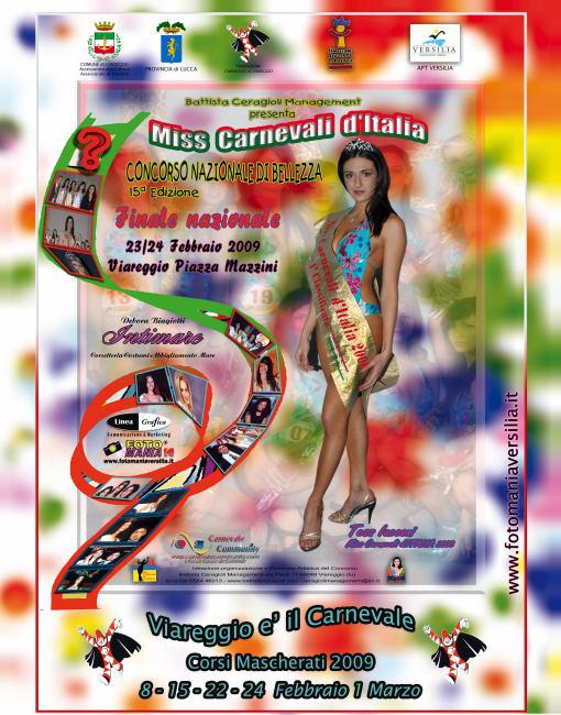 miss carnevali d'Italia 2009