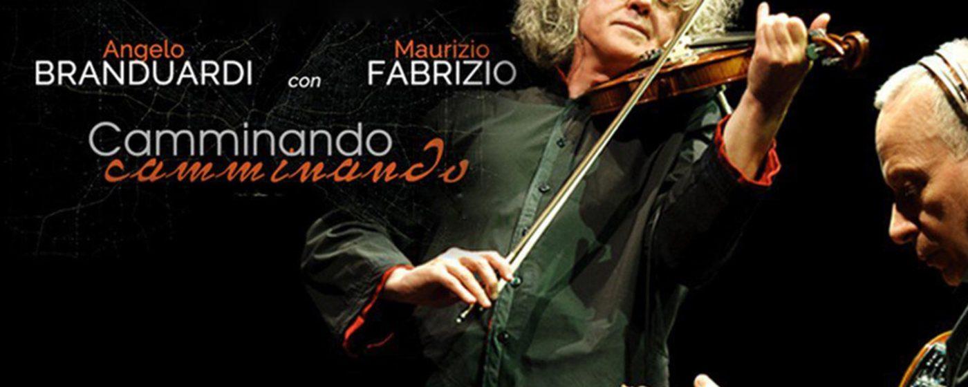 Angelo Branduardi e Maurizio Fabrizio in Camminando Camminando